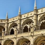 Jeronimos Monastery cloisters - Belem