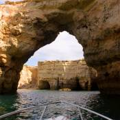 Boat trip around Algar Seco - Carvoeiro