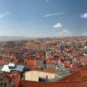 Lisbon Panorama - From the Castle