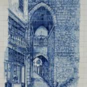 Arco de Almedina Azulejo - Coimbra