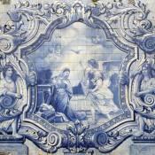 Azulejos in Lamego