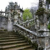 Detail of Stairway to Santuário Nossa Senhora dos Remédios - Lamego