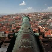 Lisbon Castle Cannon