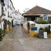 Obidos Street and houses