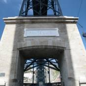 Ponte Dom Luis I in Porto - Close Up
