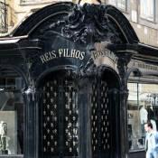 Ornate Shop Doorway - Porto