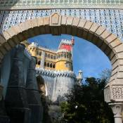 Pena Palace entrance arch