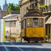 Number 28 Tram - Lisbon - Chiado