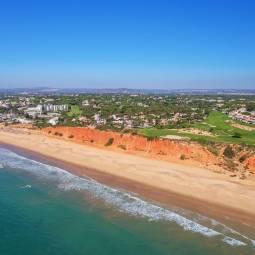 Vale do Lobo beach and golf courses