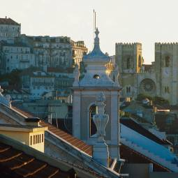 Alfama and cathedral - Lisbon