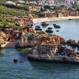 Praia da Vau, aerial view