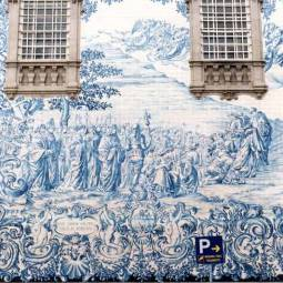 Azeljos on Carmo Church in Porto