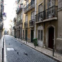 Bairro Alto Street by Day - Lisbon