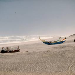 Boats on Beach at Nazare