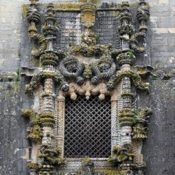 Window of the Chapter House - Tomar