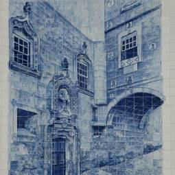Palacio Sobre Ribas Azulejos - Coimbra