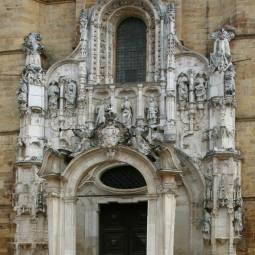 Main façade of Santa Cruz Monastery - Coimbra
