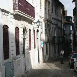 Street in Old Coimbra