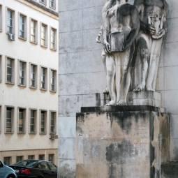 Statues - Coimbra University