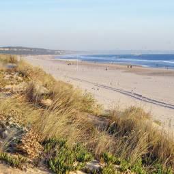 Costa da Caparica beach