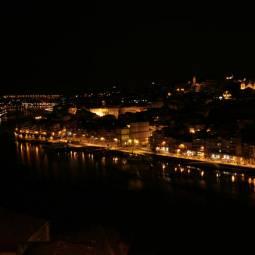 River Douro in Porto at Night