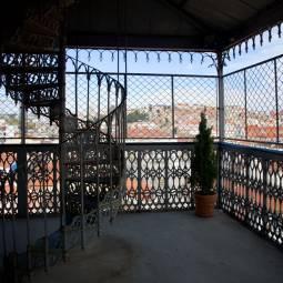 Inside the Elevador de Santa Justa