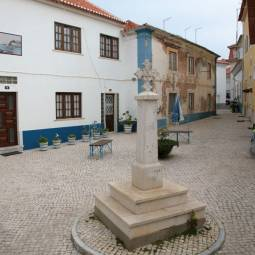 Square in Ericeira