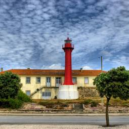 Esposende lighthouse and fort