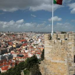 View from the Ramparts - Lisbon Castle