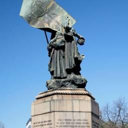 Statue in Estrela - Lisbon