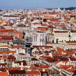 Central Lisbon Vista