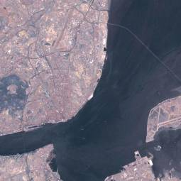 Lisbon Satellite View