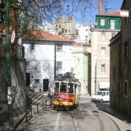 Number 28 Tram - Alfama - Lisbon