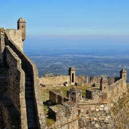 Marvão Castle view