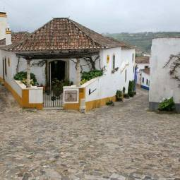 House on Corner - Obidos
