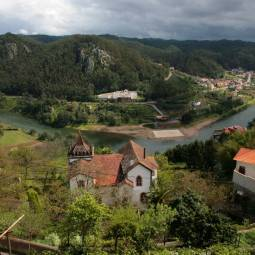 River Mondego from Penacova