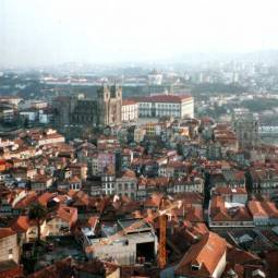 View of Porto from Clerigos Tower