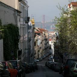 Bridge Glimpse from Principe Real