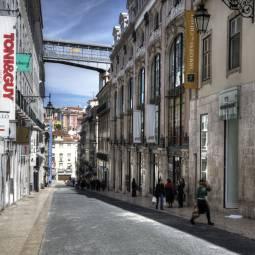 Rua do Carmo - Lisbon, Chiado