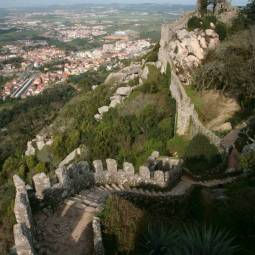 Sintra from the Castle