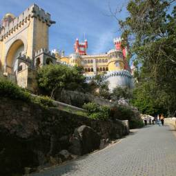 Approach to the Pena Palace - Sintra