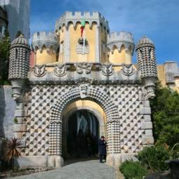 Sintra - Pena Palace Entrance