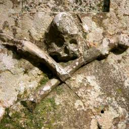 Skull and Crossbones on Tomb - Sintra