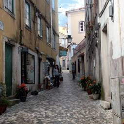 Street in Sintra's Old Town