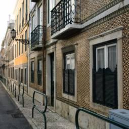 Street Near Principe Real - Lisbon