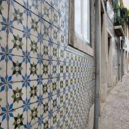 Azulejos near Principe Real - Lisbon