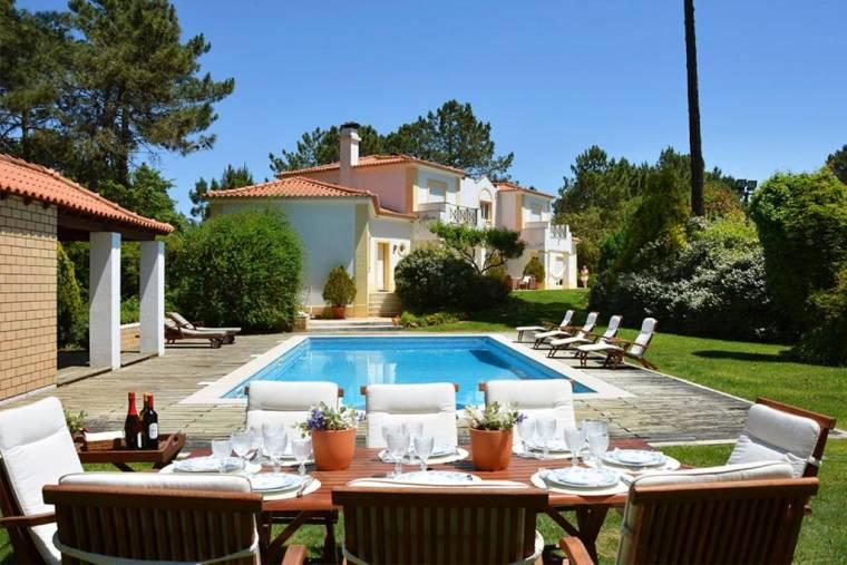 Quinta do Chaparro Villa Sleeps 12 Pool WiFi