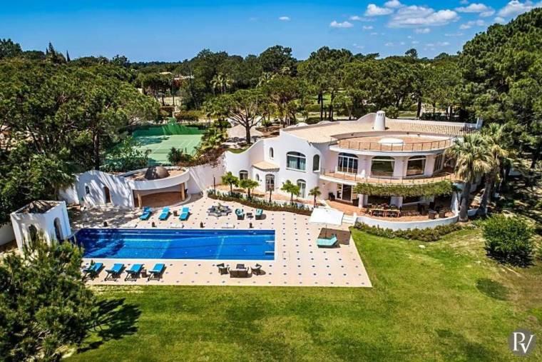 Quinta do Lago Villa Sleeps 16 Pool Air Con WiFi