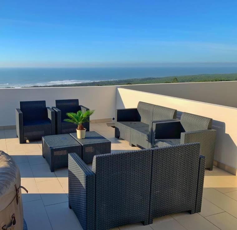 NAZARÉ PENTHOUSE Big Terrace, ocean views