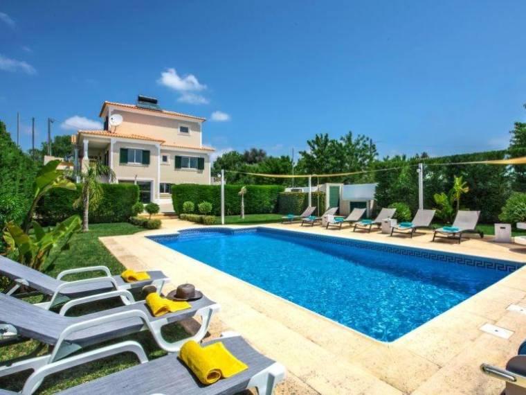 Patroves Villa Sleeps 10 Pool Air Con WiFi